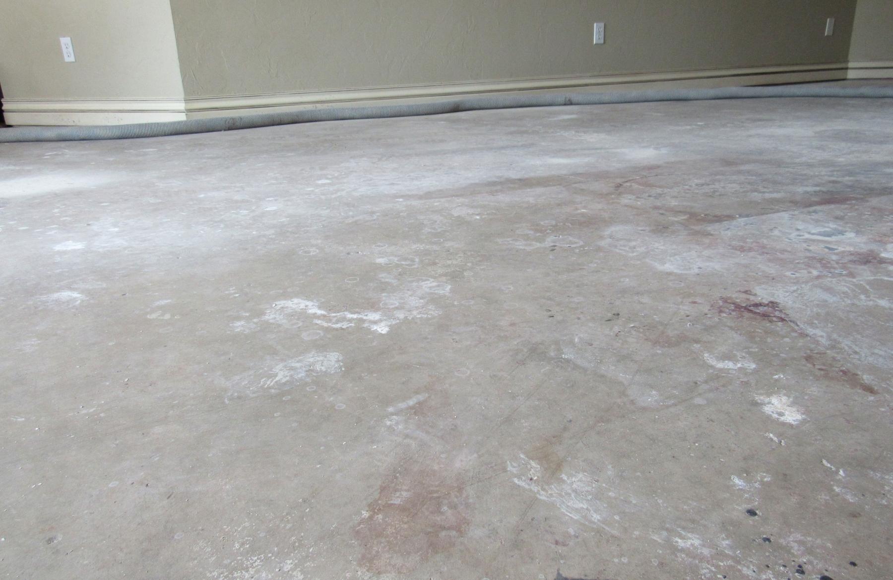 Dirty Concrete Slab